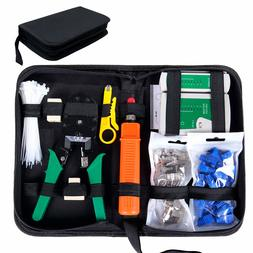 Comprobador de Cable de Red RJ45 Network Tool Kits Red Profesional